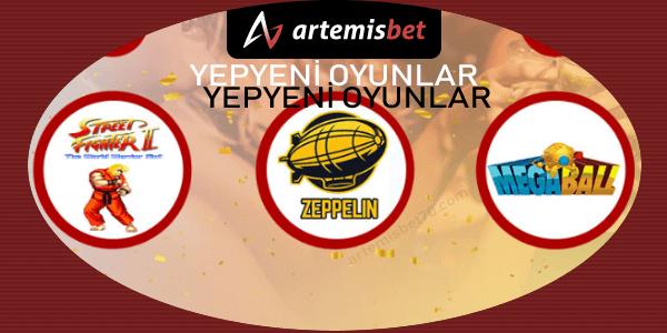 Artemisbet Yeni Casino Oyunları